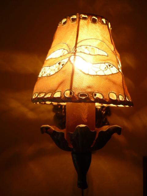 Riselt lámpaernyő 11 cm átmérő fali 2