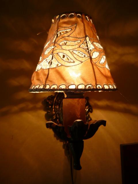 Riselt lámpaernyő 13 cm átmérő fali 1